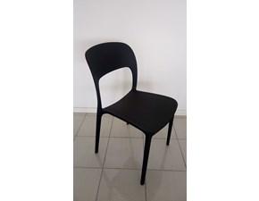 Sedia senza braccioli Gipsy Bontempi a prezzo Outlet