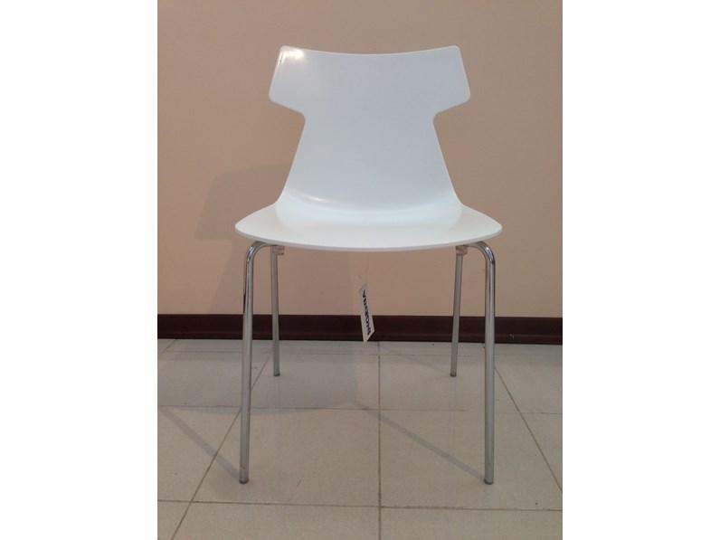 Sedia senza braccioli Giulia Ingenia a prezzo Outlet
