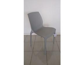 Sedia senza braccioli Hidra Bontempi a prezzo Outlet