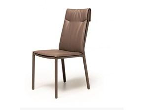 Sedia senza braccioli Isabel ml alta Cattelan in Offerta Outlet