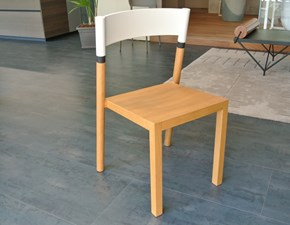 Sedia senza braccioli Joint_chair Lago a prezzo Outlet