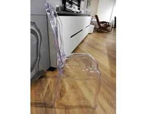 Sedia senza braccioli Lf 625 Artigianale a prezzo Outlet