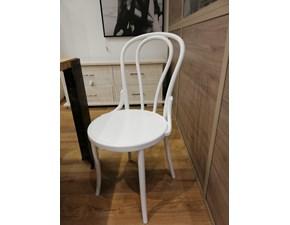 Sedia senza braccioli Lf 945 Artigianale a prezzo scontato