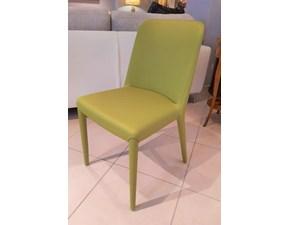 Sedia senza braccioli Lia Molteni & c a prezzo Outlet