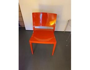 Sedia senza braccioli Lizz Kartell in Offerta Outlet