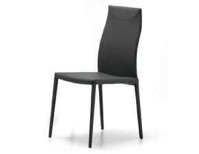 Sedia senza braccioli Maia flex Cattelan a prezzo Outlet