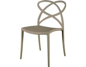 Sedia senza braccioli Mobilike ml019 Artigianale a prezzo Outlet