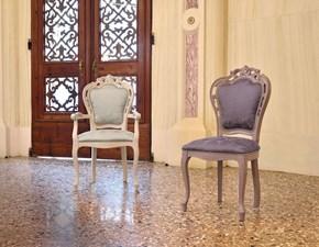 Sedia senza braccioli Modello traforata Artigianale a prezzo Outlet