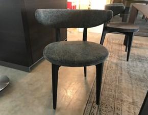 Sedia senza braccioli Moroso da soggiorno a prezzo scontato