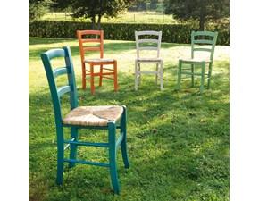 Sedia senza braccioli Nature La seggiola a prezzo Outlet