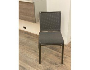 Sedia senza braccioli Net 04.56 Bontempi casa in Offerta Outlet