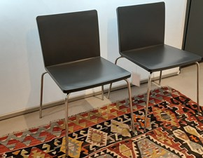 Sedia senza braccioli Next Poliform in Offerta Outlet