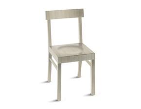 Sedia senza braccioli Niky Scavolini a prezzo Outlet