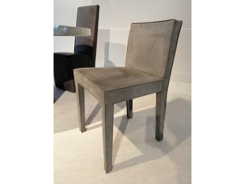 Sedia senza braccioli oslo baxter a prezzo outlet for Sedie design outlet online
