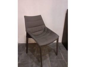 Sedia senza braccioli Outline Molteni & c a prezzo Outlet