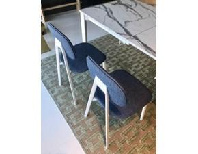 Sedia senza braccioli Painter Scavolini a prezzo Outlet