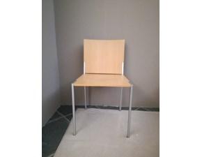 Sedia senza braccioli Plana Former in Offerta Outlet