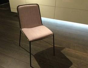 Sedia senza braccioli Pletra  Lago a prezzo Outlet