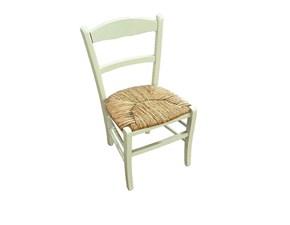Sedia senza braccioli Rustica Distribuzione grandi marchi a prezzo scontato