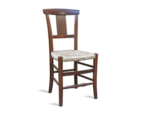 Sedia senza braccioli Rustico Artigianale a prezzo scontato