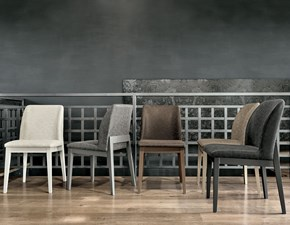 Sedia senza braccioli Salisburgo Target point a prezzo ribassato