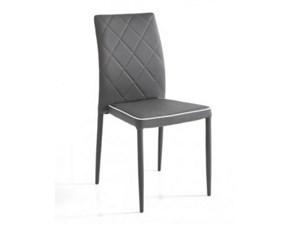 Sedia senza braccioli Sedia adele grey Tomasucci in Offerta Outlet