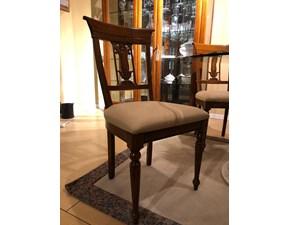 Sedia senza braccioli Sedia imbottita  Artigianale a prezzo scontato