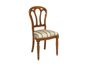 Sedia senza braccioli Sedia mod.eiffel artigianale scontata del 35% Artigianale a prezzo Outlet