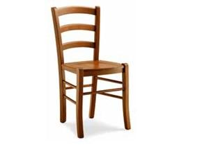 Sedia senza braccioli Sedia nela Md work in Offerta Outlet