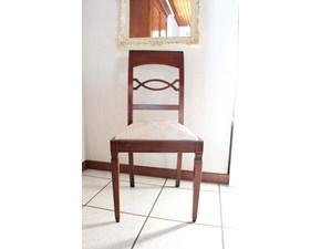 Sedia senza braccioli Siviglia Artigianale in Offerta Outlet
