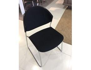 Sedia senza braccioli Talin nera Las mobili per ufficio a prezzo ribassato