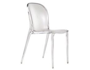 Sedia senza braccioli Thalya Kartell a prezzo Outlet