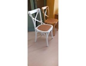 Sedia senza braccioli Tuscany Artigianale a prezzo scontato