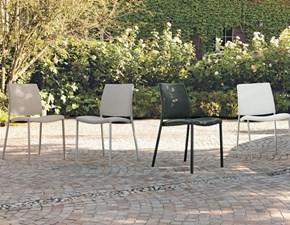 Sedia senza braccioli Zara Target point a prezzo Outlet