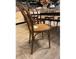 Sedia Set 6 sedie Dialma brown con uno sconto vantaggioso