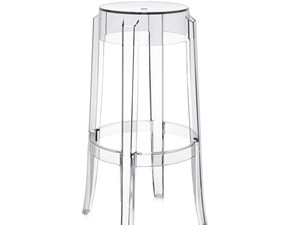 Sedia sgabello Charles ghost Kartell in Offerta Outlet