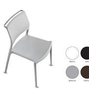 sedia stampata in polipropilene