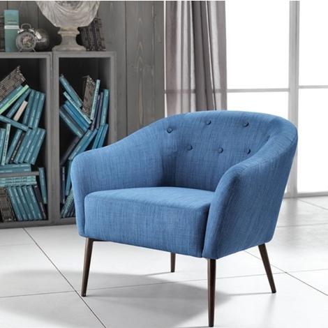 Sedia stones elena tessuto design poltroncina sedie a for Sedie tessuto design