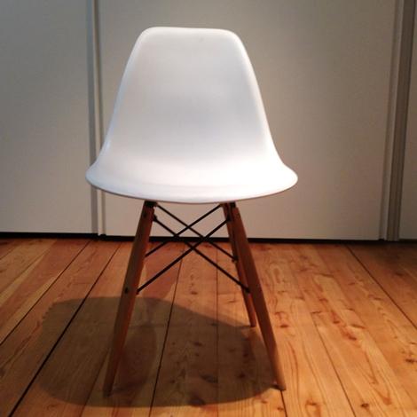 Sedia tipo vitra plastic side chair di charles eames scontata del 50 sedie a prezzi scontati - Sedie vitra ufficio ...