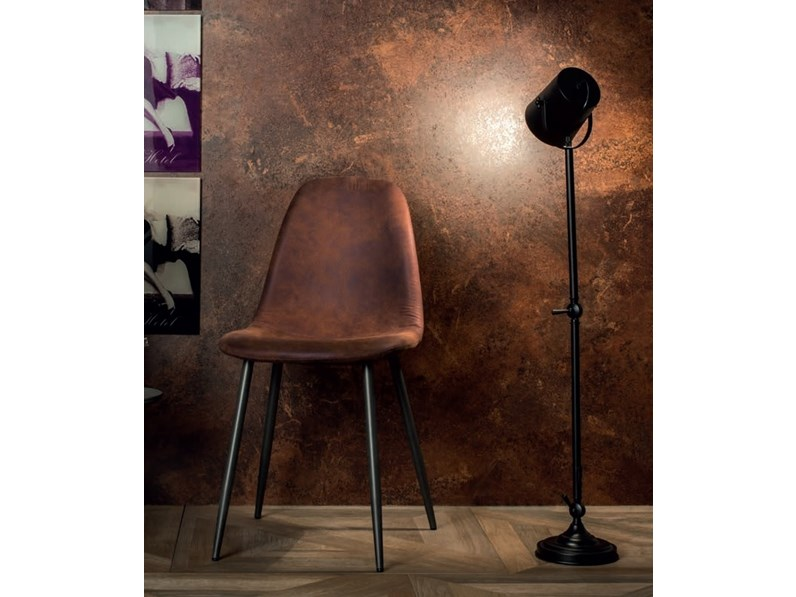Sedie In Metallo Vintage : Sedia vintage metallo in esaurimento