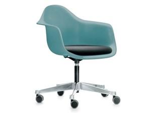 SEDIA Vitra Eames plastic armchair pacc - design vitra PREZZI OUTLET