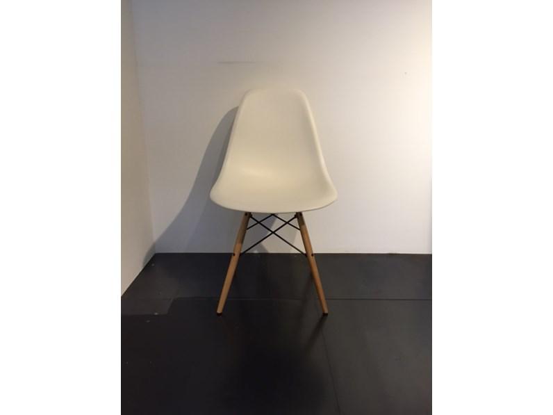 sedia vitra modello dsw design eames 1950 versione legno On vitra sedie outlet