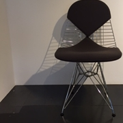 sedia wire chair vitra imbottita