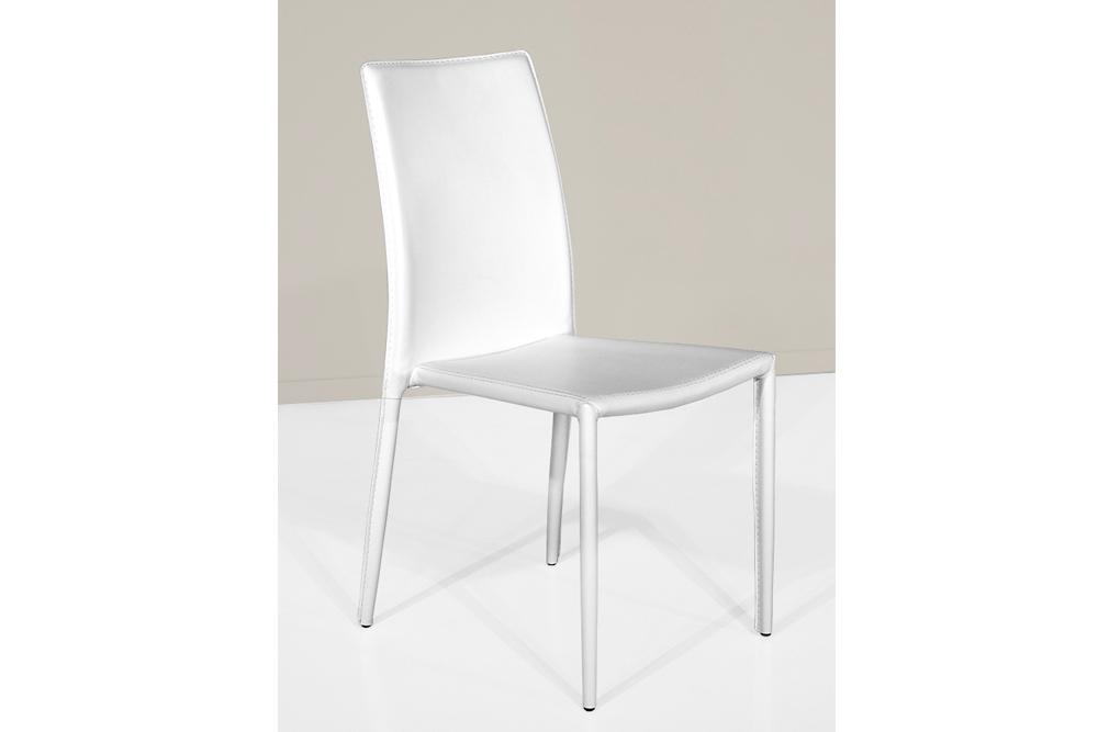 Sedia voga sedie a prezzi scontati for Sedia bianca moderna