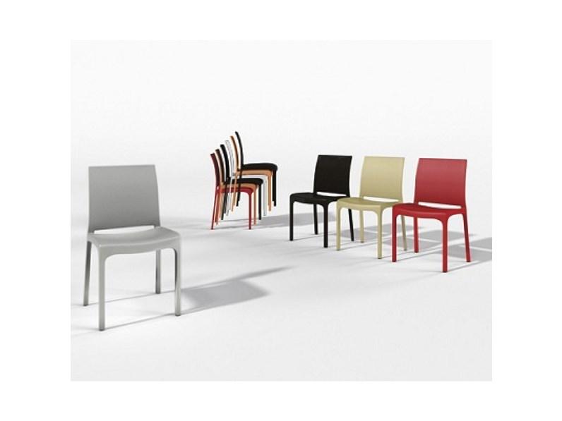 Sedia zamagna modello step sedie a prezzi scontati for Dimensione casa arredamenti