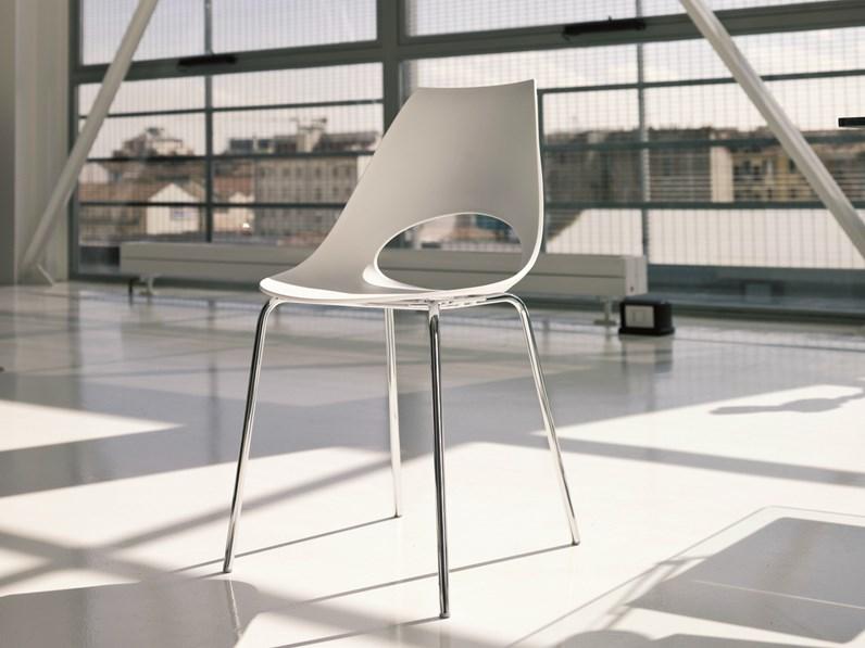 Bontempi casa sedia modello shark for Sedie design verona