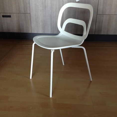 Sedie bianche moderne ciacci scontate del 50 sedie a for Sedie moderne outlet