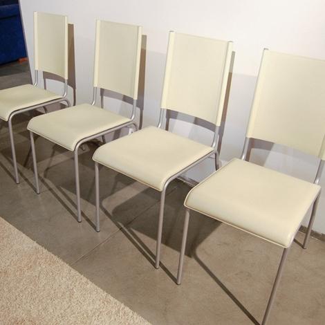 sedie cuoio beige occasione sedie a prezzi scontati