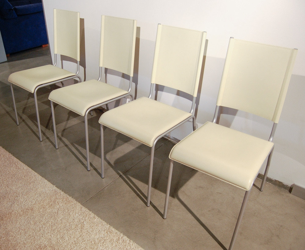 Sedie cuoio beige occasione sedie a prezzi scontati for Sedie cuoio prezzi