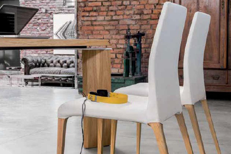 Tonin casa sedia aragona ecopelle scontato del 40 for Fontana arreda
